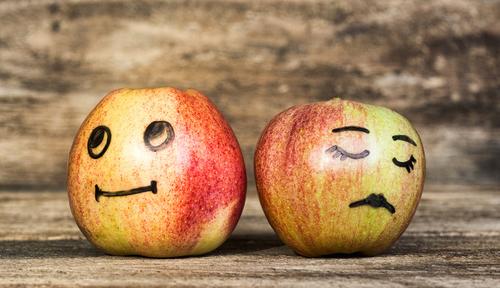 Couples showing contempt